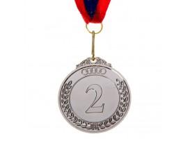 Медаль призовая d=6,5 см 2 место