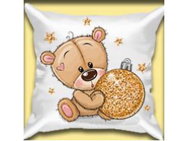 Подушка-сувенир на Новый год