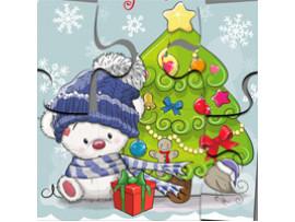 Пазл новогодний