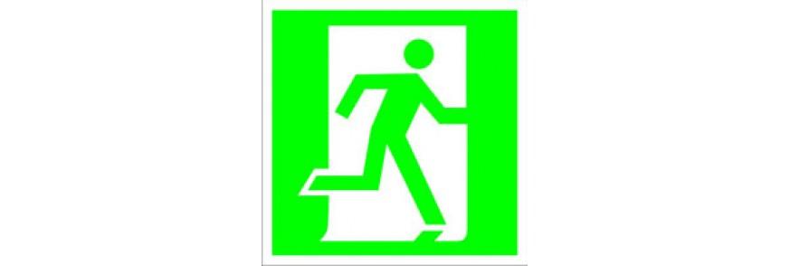 Знаки эвакуационные (E)
