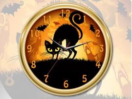 "Часы круглые ""Хеллоуин"" (31066)"