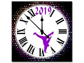 (31921) Часы квадратные «Dance!»