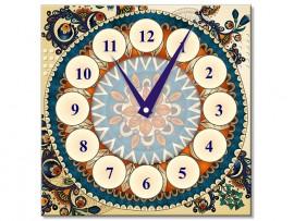 (31923) Часы квадратные в стиле «Бохо»