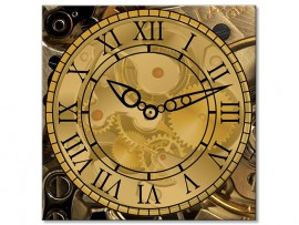 (31925) Часы квадратные «Mechanism»