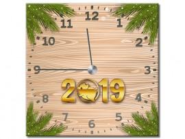 (31926) Часы квадратные «С Новым годом!»