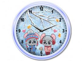 "(32055) Часы круглые ""ми-ми-Мышки"""