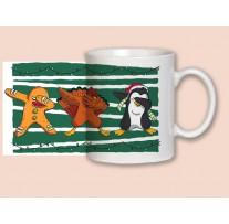 """(31915) Кружка-поздравление """"Christmas dabbing...!"""""""