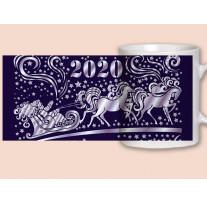 """(32045) Кружка-поздравление """"С Новым годом!"""""""