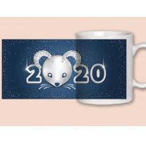 """(32049) Кружка-поздравление """"С Новым годом!"""""""