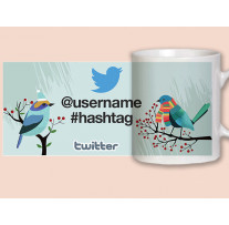 """(32072) Кружка в подарок """"Twitter"""""""
