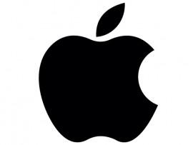 """Наклейка на автомобиль """"Apple"""" (30803)"""