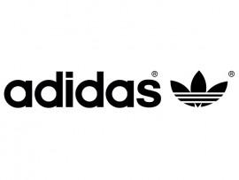 """Наклейка на автомобиль """"adidas"""" (30806)"""