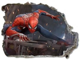 """(31684) Виниловая наклейка """"Портал в мир Человека-паука"""""""