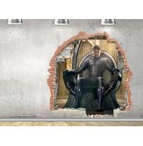 """(31688) Виниловая наклейка """"Портал к Чёрной Пантере"""""""