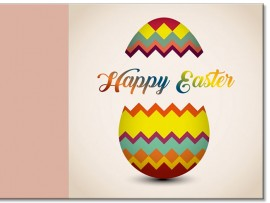 "Открытка ""Happy Easter"" 14х14 см"