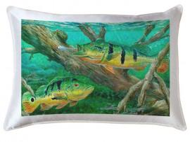 Декоративная подушка в подарок рыбаку (30920)