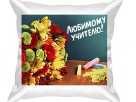 Декоративная подушка в подарок учителю (31040)