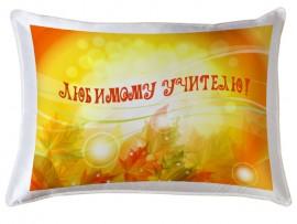 Декоративная подушка в подарок учителю (31045)