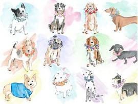 """(31396) Подушка декоративная """"Dogs"""""""