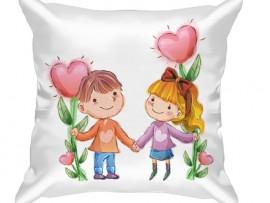 (31635) Подушка декоративная в подарок на День влюбленных