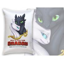 """(32002) Декоративная подушка в подарок """"Как приручить дракона 3"""""""