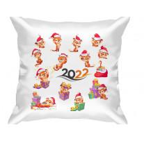 (32201) Подушка декоративная в подарок на Новый год