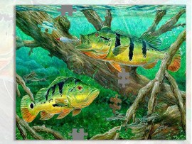Пазл А3 в подарок рыбаку  (30920)