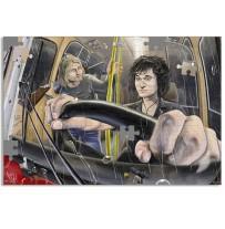 """Пазл А3 """"Тролейбус который идет на восток"""" (31280)"""