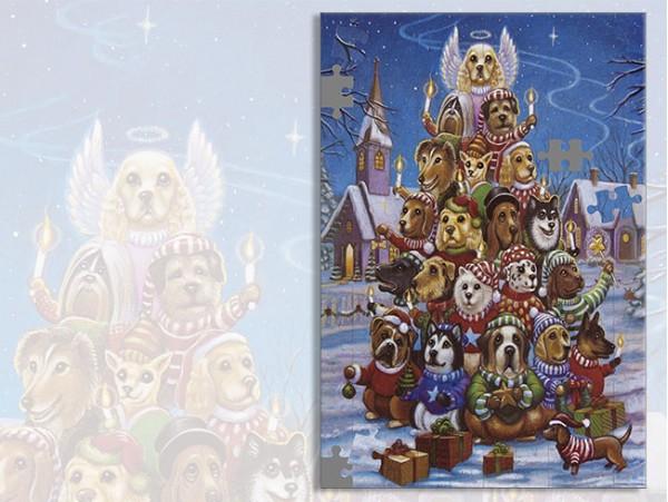 """(31511) Пазл А3 """"С Рождеством"""""""