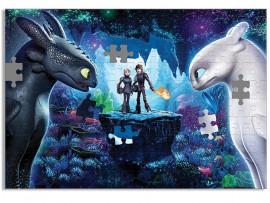 """(32004) Пазл А3  """"Как приручить дракона 3"""""""