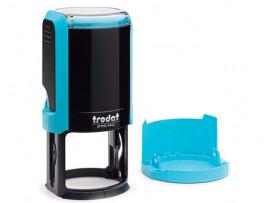 Автоматическая оснастка для печати - Trodat Printy 4642 P4  (Диаметр поля 42 мм) Голубой