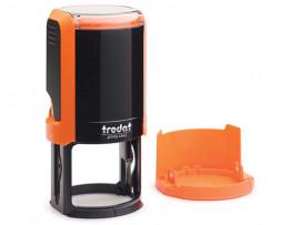 Автоматическая оснастка для печати - Trodat Printy 4642 P4  (Диаметр поля 42 мм) Оранжевый