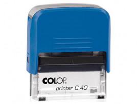 Автоматическая оснастка для печати - Colop Printer C40 Compact Transparent (Размер поля 59х23 мм)