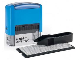 Самонаборный штамп Ideal 4912/DB TYPO  (47х18 мм)