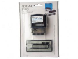 Самонаборный штамп Ideal 4911/DB TYPO  (38х14 мм)
